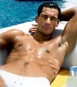 più bello del mondo david gandy